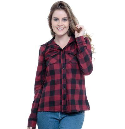 camisa xadrez feminina 6