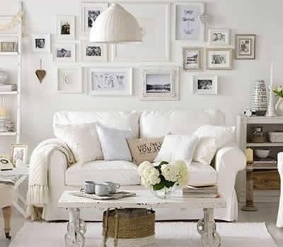 Toque de branco na decoração