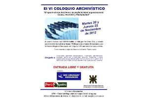 VI Coloquio archivístico en Concepción del Uruguay, Argentina