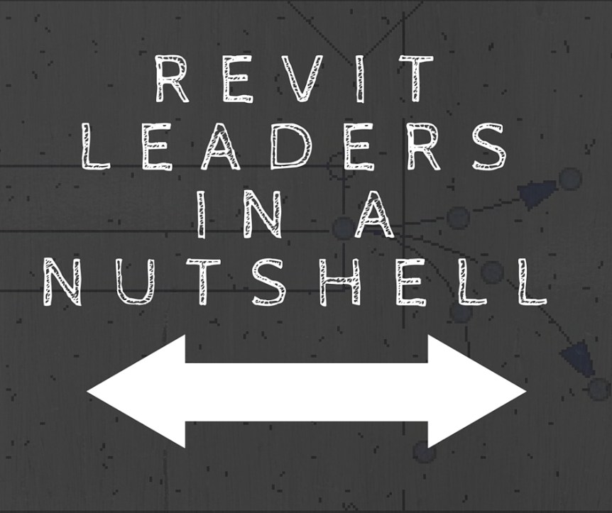 Revit Leaders in a Nutshell