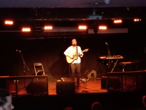 Hazy host Findlay Napier sings songs from his forthcoming new album.