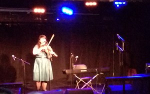 The Myster Act: US fiddler Laura Cortese.