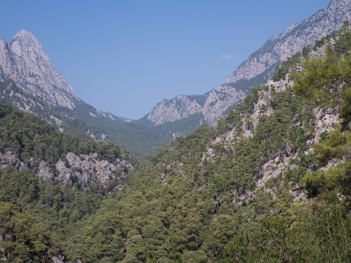Göynük Canyon, near Antalya, SW Turkey