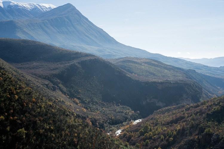Scenery near Gjirokaster.