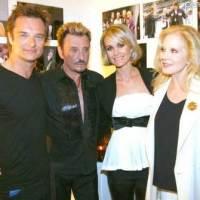 Johnny Hallyday : c'est dans leur villa sur les collines de Beverly Hills que la famille s' est réunie pour un Noël tranquille