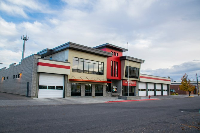 Rexburg Urban Renewal Firestation After