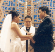 Deanne and Ron Rivera Wedding