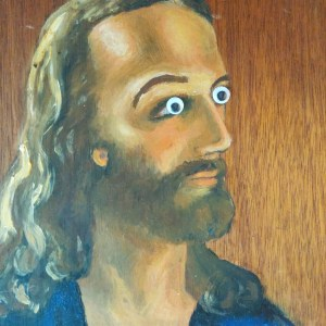 Jesus Googly Eyes