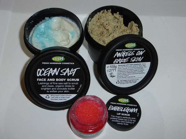 lush skincare and beauty