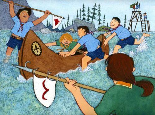 Francobollo - FIS - 100 anni di scoutismo