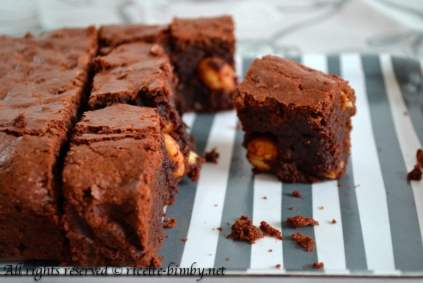 Brownies al cioccolato bimby 1