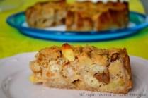 Torta di pane e mele bimby