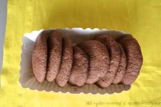Biscotti con gocce di cioccolato senza glutine bimby 1
