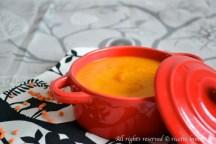 Vellutata di carote e lenticchie rosse bimby