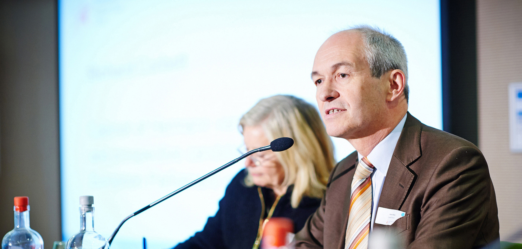 Speaking at European Public Affairs Action Day (credit: The Parliament Magazine)