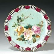 ANTIQUE COALPORT CABINET PLATE