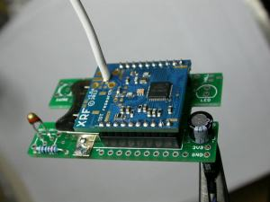 thermistor board with XRF