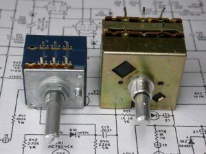 Audio Research SP8 Volume control