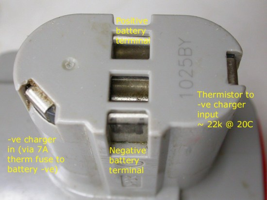 Makita power pack connections