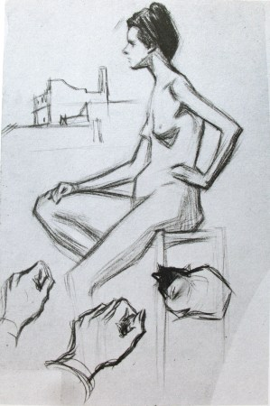 pablo-picasso-croquis-nude-2