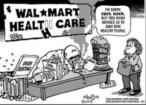 Wal-Mart: Feeling the Heat on Health Care