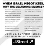 J Street Condemns Silence of Israel Lobby in Face of Peace Prospects
