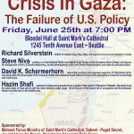 Seattle Conference: Gaza's Humanitarian Crisis and the Failure of U.S. Policy