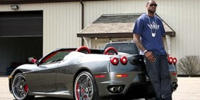 Cars owned by LeBron James