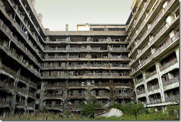 Abandoned Cities Hashima Island 2013