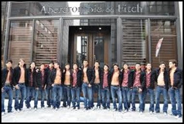 Abercrombie & Fitch fashion brand