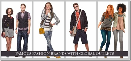 10 Famous Fashion Brands with Global Outlets