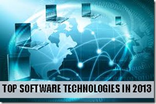 Top 10 Software Technologies in 2013
