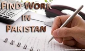 Find work in Pakistan