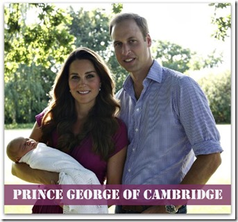 Prince George – A Celebrity in the Making