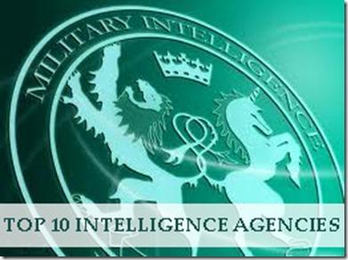Top 10 Intelligence Agencies in 2013