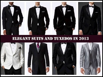 10 Most Elegant Suits and Tuxedos in 2013