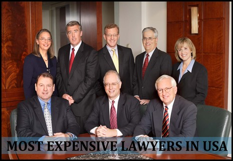 10 Most Expensive Lawyers in USA
