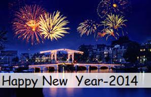 New year's celebrations 2014 arround the world