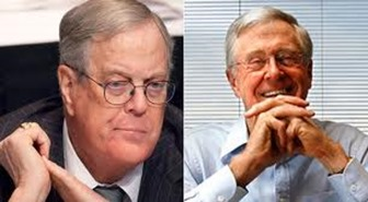 Koch brother so rich and famous