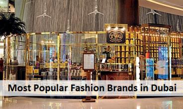 Most Popular Fashion Brands in Dubai