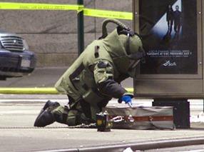 Bomb Squad Technician scariest job