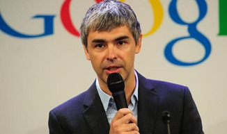 Larry Page business tycoon from the IT industry