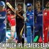 IPL players earning