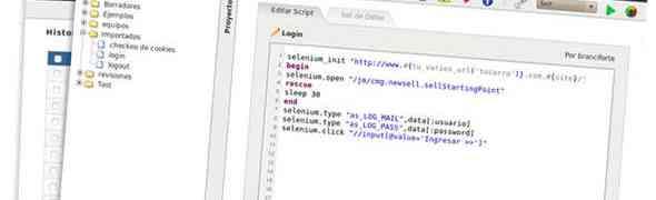 Automatización de pruebas en websites con Cacique