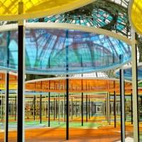 """[Exposition] Monumenta - Daniel Buren """"Excentrique(s)"""" - Nef du Grand Palais"""
