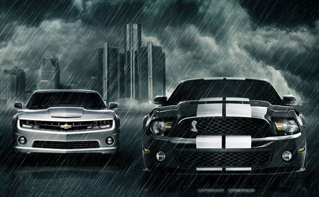 rides cars chevy chevrolet camaro ford mustang sales outsells