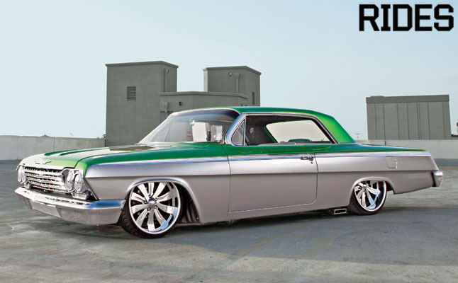 Rides cars 1962 Chevy impala lowrod