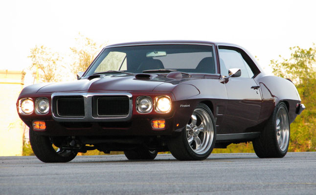 rides cars 1969 Pontiac Firebird