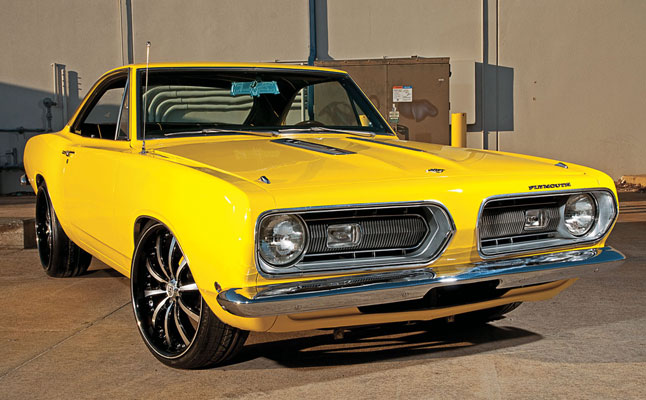 cars rides plymouth barracuda 1968