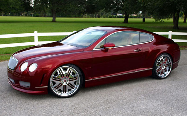 rides cars bentley continental gt red ultimate